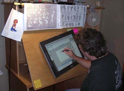 The Inkling Chronicles 21st Century Animation Desk