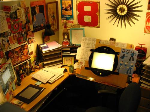 Animation Desks Animator Workspace